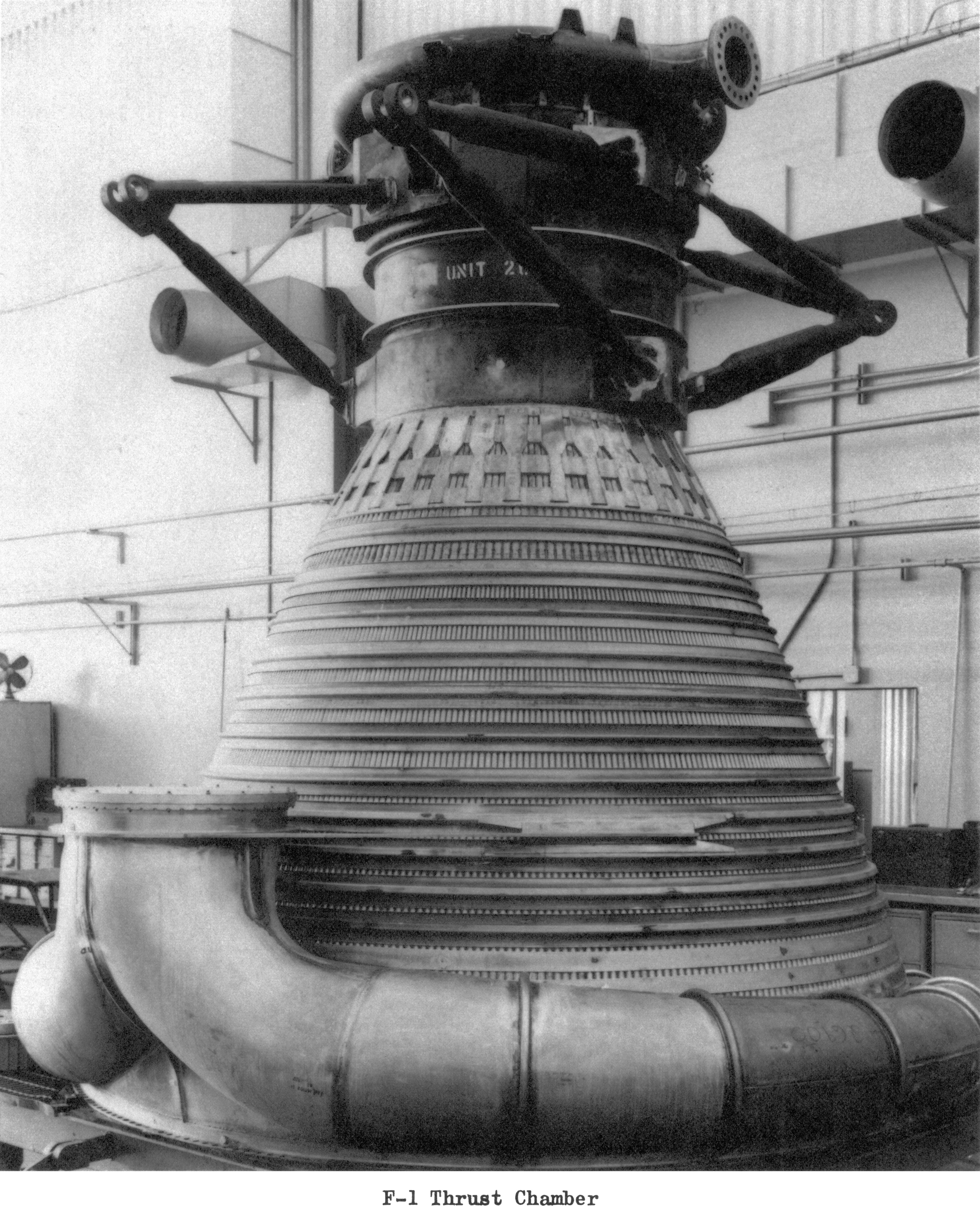 F 1 Engine Thrust Chamber