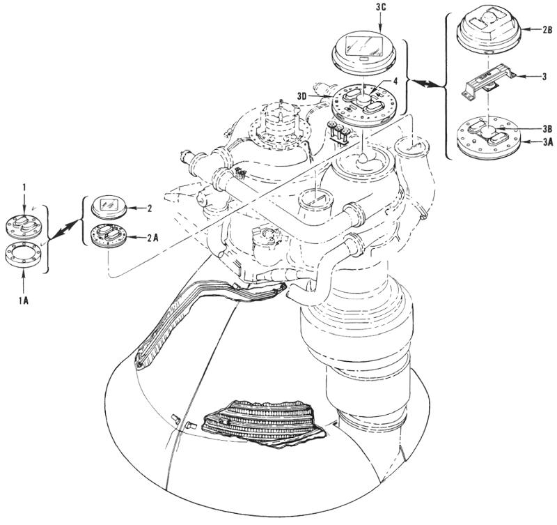 parts of liquid fuel rocket engine