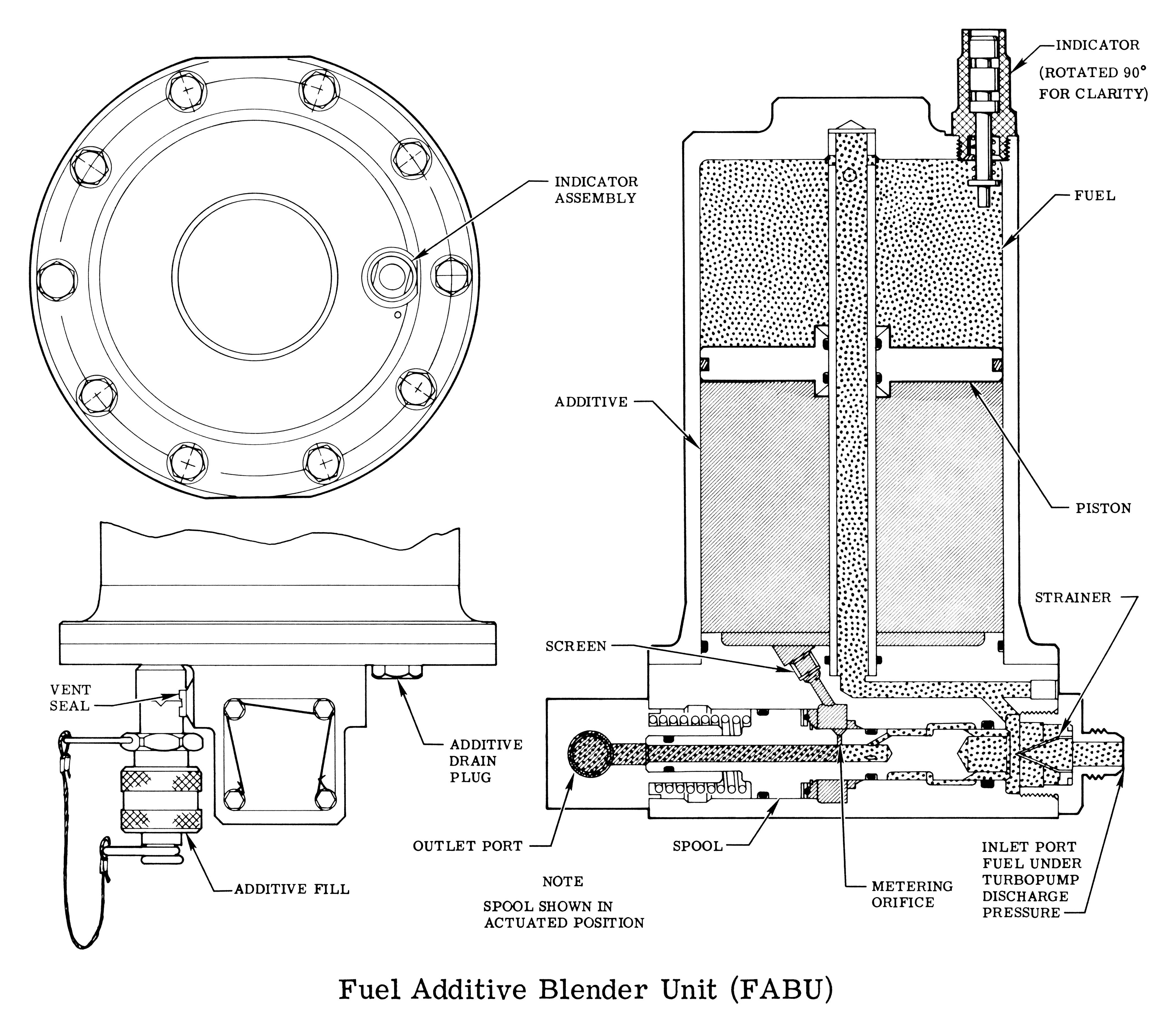 H-1 Rocket Engine Fuel Additive Blender Unit (FABU) on