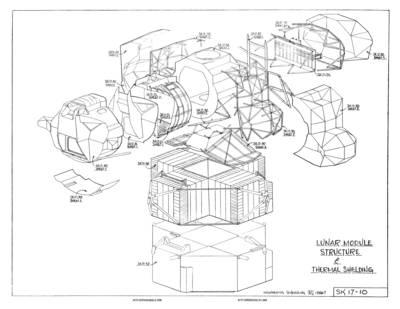 lunar landing module drawings - photo #14