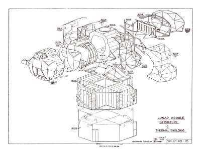 lunar landing module drawings - photo #9