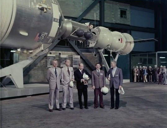 Apollo-Soyuz Test Project Display at the National Air ...