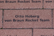 Wernher von braun team tribute for Rudolf hoberg